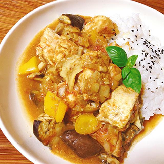鶏とたっぷり野菜の簡単カレー