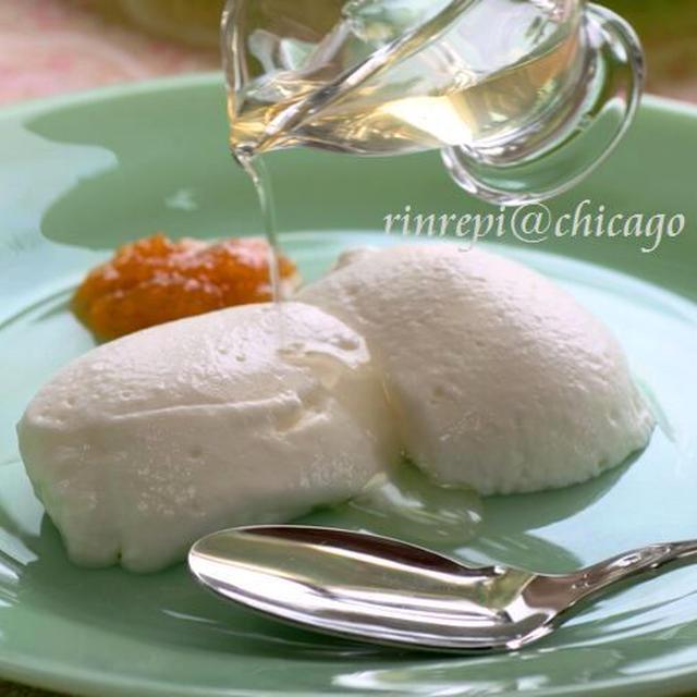 豊潤・・温はちみつがけ ラムの香りのミルクムース