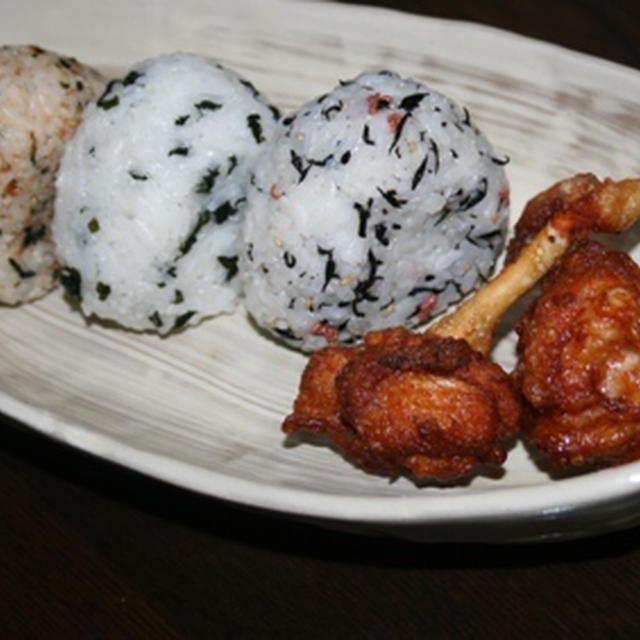 8月26日  おにぎり&鶏チューリップの唐揚(中学生オープン)
