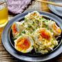 【レシピ】半熟味玉と玉ねぎのおつまみサラダ #ゆで卵作りのコツ
