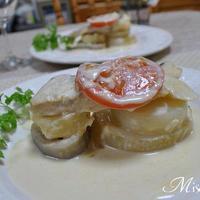 鱈と根菜のクリーム煮
