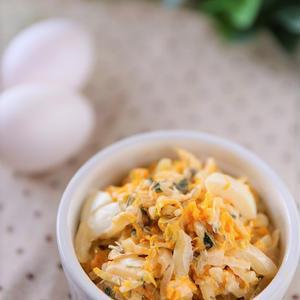 白菜と玉子のローズマリーマヨサラダ