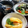 ◆清水白桃で美味しい日々~ゆるやか糖質制限♪