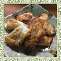 しゅうまいの皮で作る簡単揚げ焼き餃子(レシピ付) by kajuさん