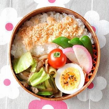 ◆豚の生姜焼き弁当