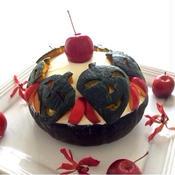 かぼちゃ丸ごと姫りんごケーキ