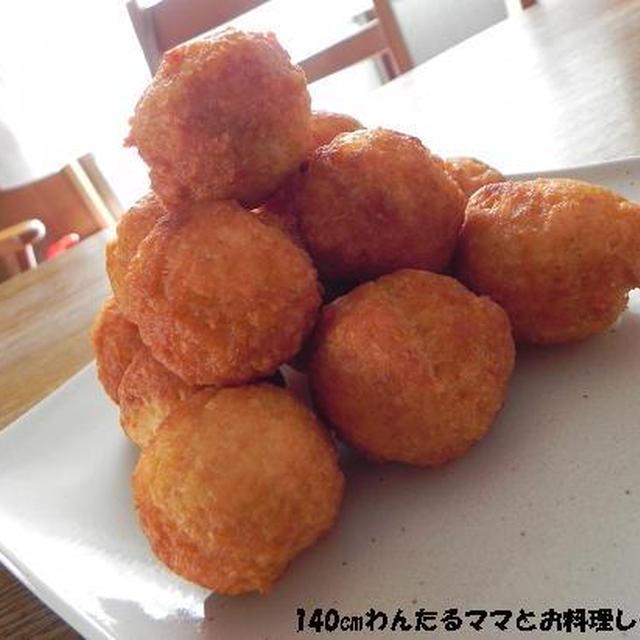 お月見にぴったり★もちもち豆腐ドーナツ