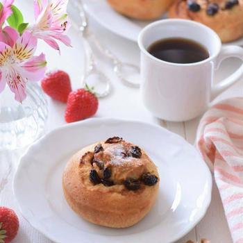 【スパイス大使】朝はホットケーキミックスでシナモンロールブレッド♡GABANシナモンシュガー