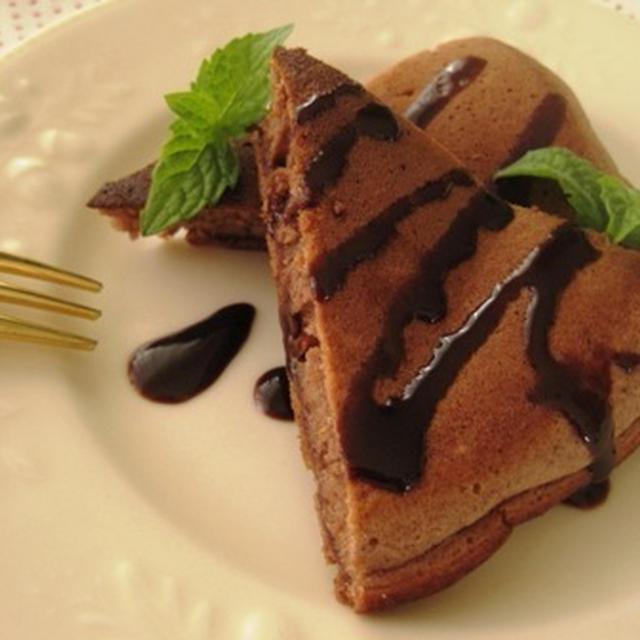 ココアのパンケーキ