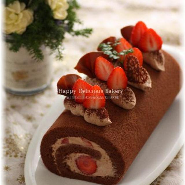 バレンタインにあげたいチョコロール♪またシュークリーム♪