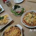 スパイス大使|簡単ピザでおもてなしランチ