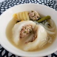 【モニター当選】白玉肉団子鍋