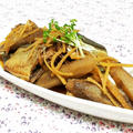 圧力鍋で骨まで美味しい♪秋刀魚の生姜煮