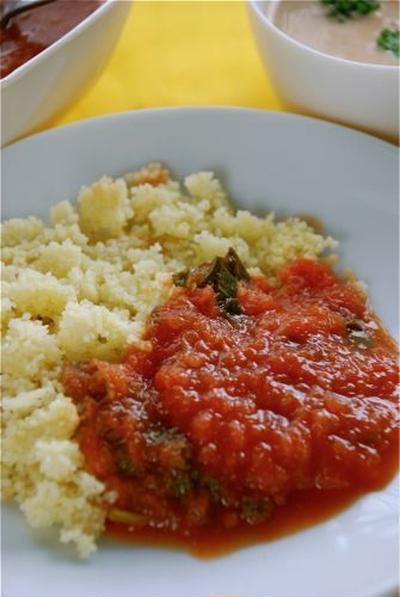 即席トマトソース