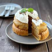 【バニラアイスが活躍】ムッチリしっとり珈琲ケーキ