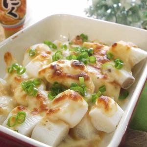 長芋のにんにく味噌チーズ焼き