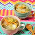 ホットなスープでポッカポッカ♪白菜と春雨の酸辣湯 by kitten遊びさん