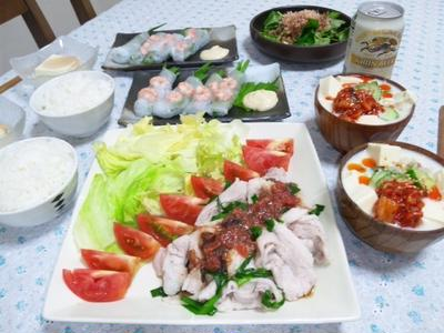 豆乳とキムチのピリ辛スープ☆春雨入りでつるつる美味しい~!