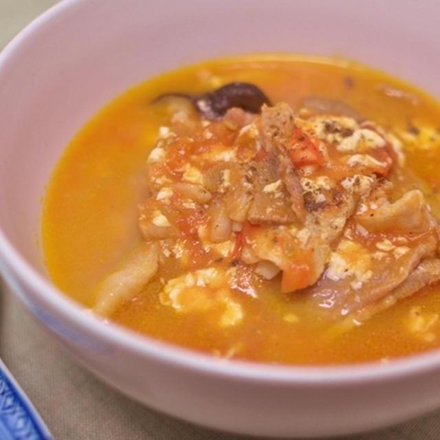中華風トマトスープ