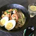 糖質オフ 野菜たっぷりこんにゃく麺や白滝を使ったタイピーエン