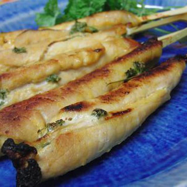 できるだけ家にあるもので♪ タイ風豚肉のパセリサテ