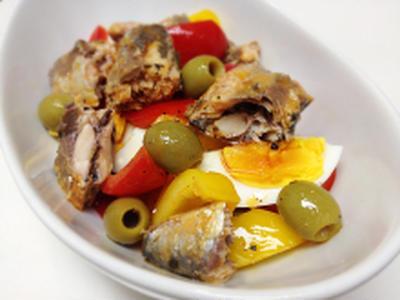 オイルサーディンのムルシア風サラダ