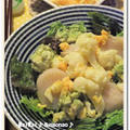 ホタテ&アボカドの特製タルタルソースdeボリュームおかずサラダ♪ by naonao♪さん
