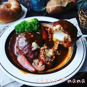おうちで絶品!冬に食べたい「煮込みハンバーグ」レシピ