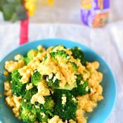 ブロッコリーと卵のトムヤムクンサラダ