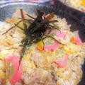 【レシピ】簡単★時短★アレンジ★ふんわり~★玉子丼6【たっぷり豚ひき玉子丼】