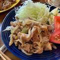 炒めるだけで簡単♡甘くない♡豚肉の生姜焼き【#簡単レシピ#時短#節約#豚こま肉】