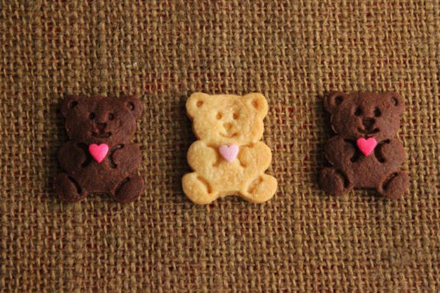 ギフトに最適♪ キュートな「くまクッキー」レシピ15選の画像