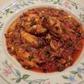 ムール貝のトマトソース煮
