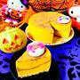 カボチャとサツマイモのチョコマーブルレアチーズケーキ♡