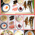今朝はご飯を炊いて朝の和定食