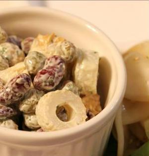■ちくわと豆の、柚子胡椒サラダ■