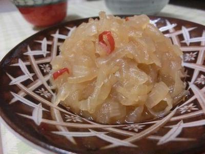 玉ねぎ切りで涙が出ない方法あり☆ 玉ねぎの佃煮 2種 生姜とカレーバージョン