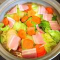 土鍋でロールキャベツ