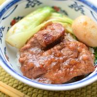 台湾の排骨飯煮込み版