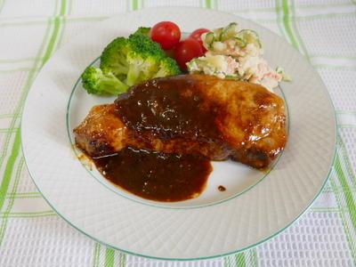 イカリソース・とんかつで作る豚肉のソース生姜焼き