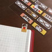 ハートをワシヅカミ♡手帳をステキに使うインデックスシール