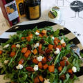 トレジョのローストスイートポテトとゴートチーズで簡単サラダ