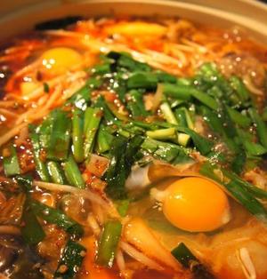 ☆鶏手羽肉の食べるラー油鍋☆