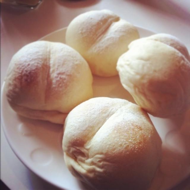 レシピ*ふわふわ白パン・ココアパン