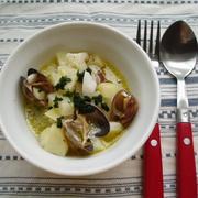 シーフードとジャガイモのホットサラダ【Seafood and Patato Hot Salad】