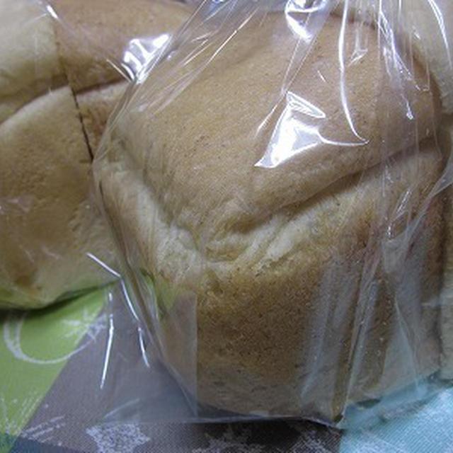 ホームベーカリーでソフトライ麦パン