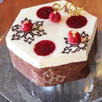 フォレノワールなクリスマスケーキ♪