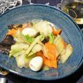 8種類じゃないけど八宝菜。ありものでおいしく簡単中華。