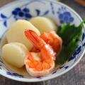 長芋とえびの旨煮|おせち料理のえびの味付けで♪