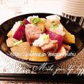 鶏もも肉と根菜の生姜醤油で☆炒め煮 by Jacarandaさん